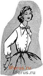 Основа женской блузки