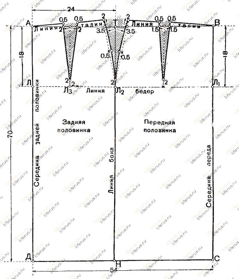 44 фасона юбок - фасоны прямых